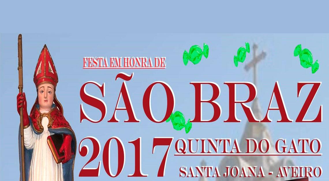 Festas em Honra de São Braz - Dia 03 Fevereiro
