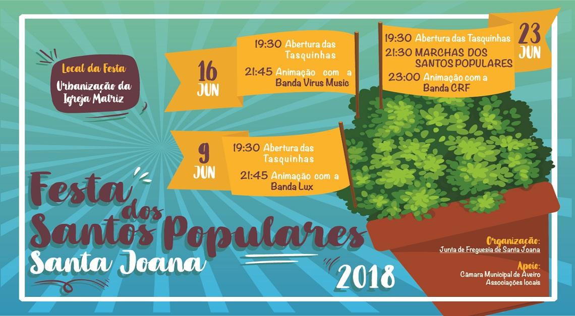 FESTA DOS SANTOS POPULARES _ 16 JUNHO