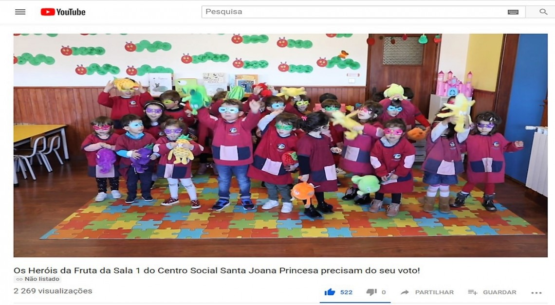 VÍDEO DO CENTRO SOCIAL É O FAVORITO DO DISTRITO