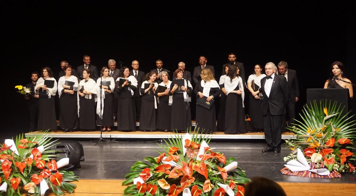 CORO DE SANTA JOANA atua em Festival da Madeira