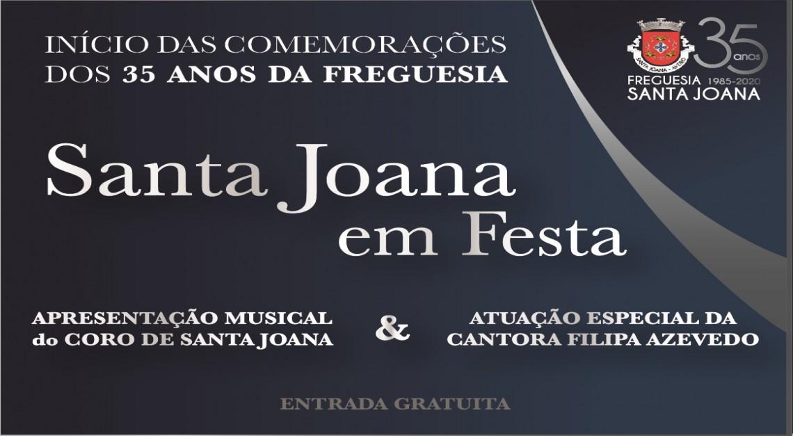 SANTA JOANA EM FESTA _ 35 ANOS