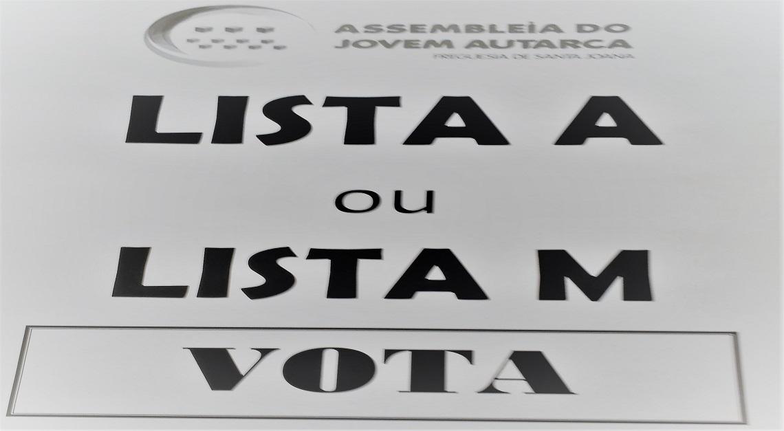 Lista A ou Lista M? Assembleia do Jovem Autarca eleita esta sexta-feira