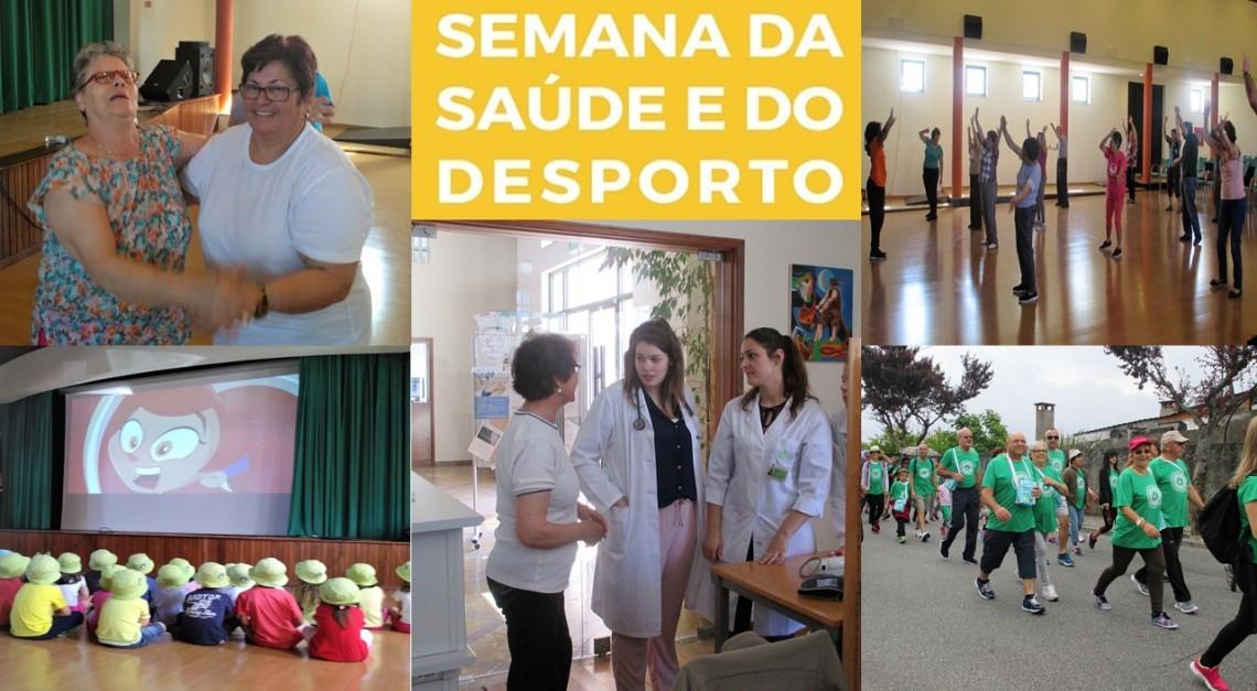 SEMANA DA SAÚDE E DESPORTO foi um sucesso!