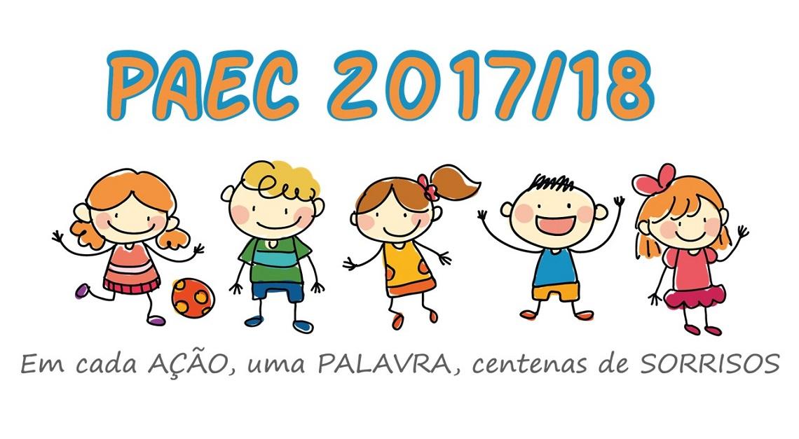 PAEC 2017/18 pronto a ser dinamizado nas escolas da Freguesia!