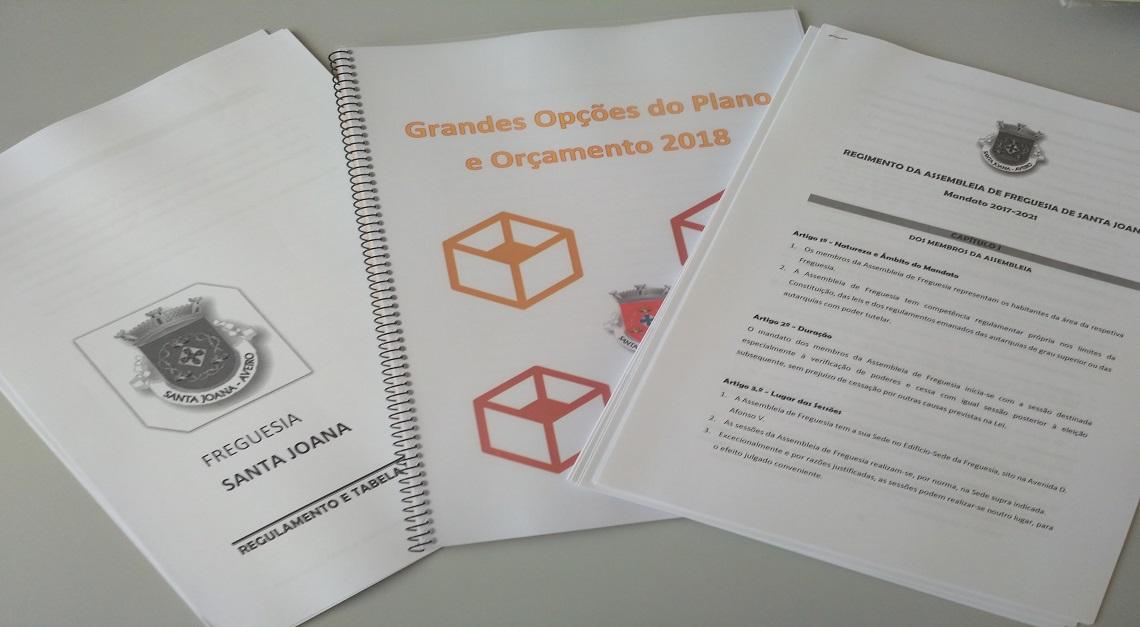 Assembleia de Freguesia aprova as GOP's e diversos Regulamentos