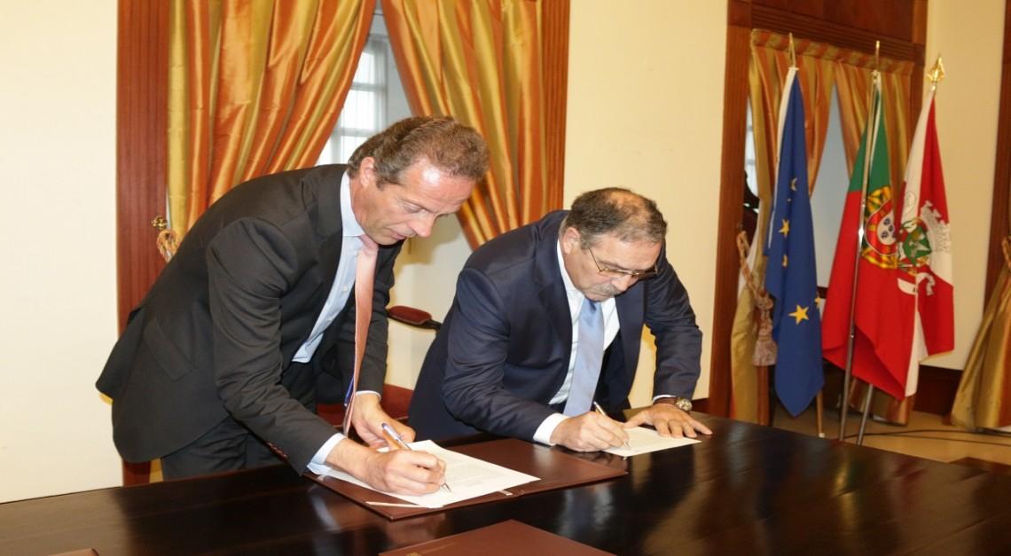 JUNTA DE FREGUESIA assina Contrato de Delegação de Competências