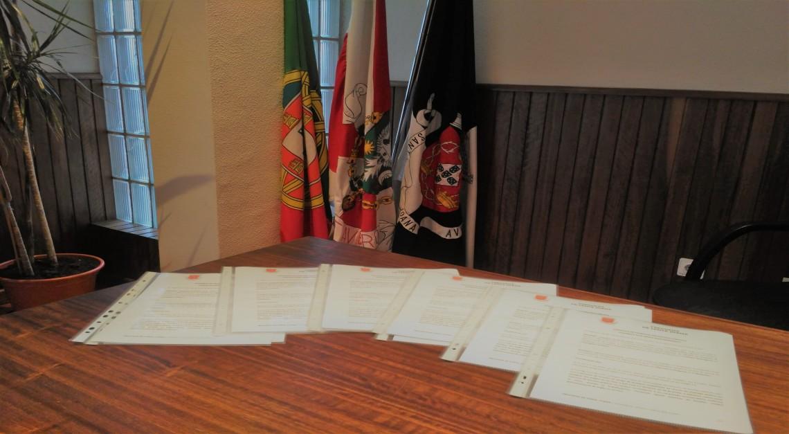 FREGUESIA formaliza CONTRATOS DE TRABALHO