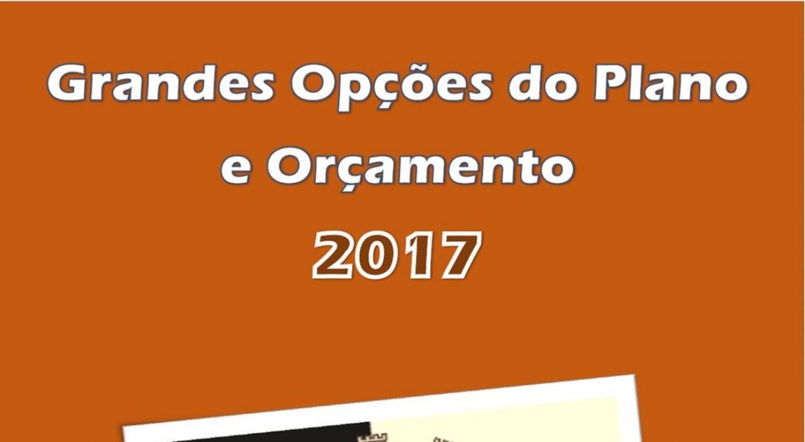 GRANDES OPÇÕES DO PLANO 2017