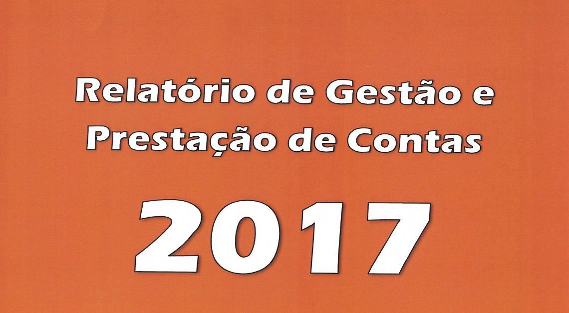RELATÓRIO DE GESTÃO E CONTAS 2017