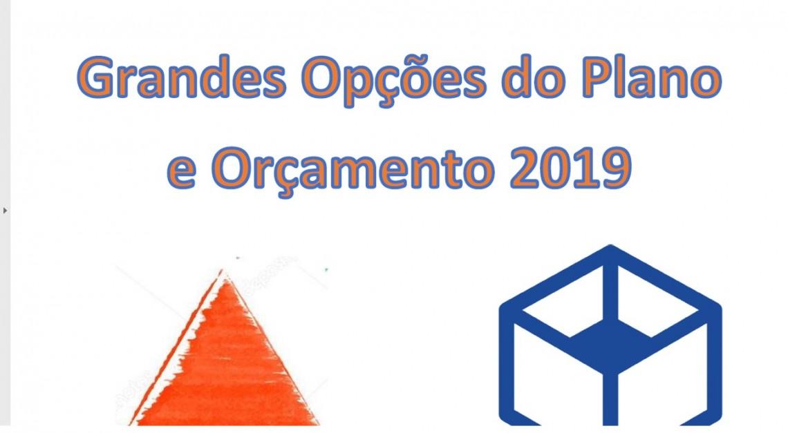 GRANDES OPÇÕES DO PLANO 2019